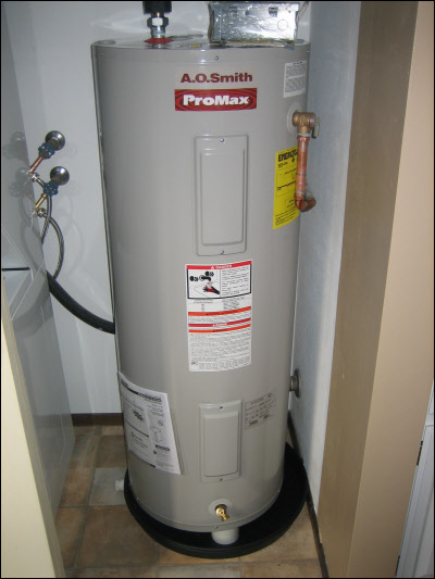 shorewood electric water heater installation - Electric Water Heater Installation